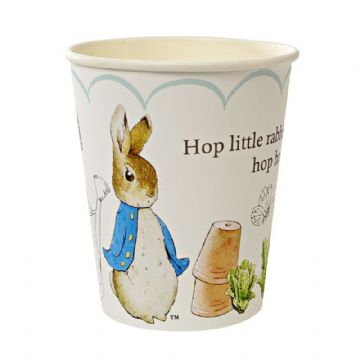 Peter Rabbit Paper Cups - pack of 12